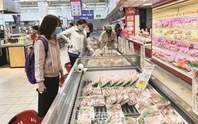 超市貨源充足,價廉物美。