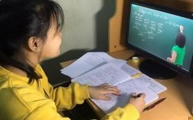 學生在上網課。(圖源:清和)