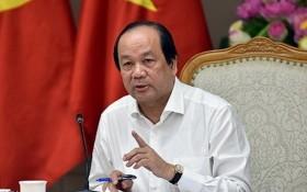 政府辦公廳主任梅進勇部長。(圖源:VGP)