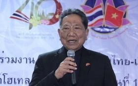 泰國外交部前部長、泰-越友好協會主席巴蜀閣下生前照。(圖源:VOV)