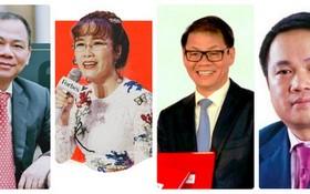 從左至右:范日旺、阮氏芳草、陳伯陽及胡雄英。(圖源:互聯網)