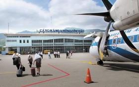 崑崙島3C航空港目前只能接待ATR72型飛機,每班機運送70至80乘客。(圖源:英明)