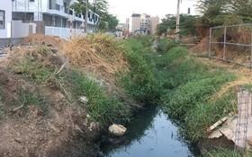 椰橋涌逐漸被填埋,目前只是條小排水道。