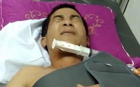 傷者陶V.T.當前已被轉送省級醫院接受治療。(圖源:秋賢)