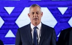 以色列議長本尼‧甘茨。(圖源:AFP)