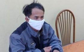 被刑拘在公安派出所的嫌犯梅文海。(圖源:人民公安報)