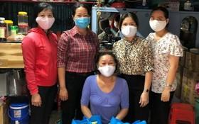 市婦聯會及第五郡婦聯會探訪華人殘疾婦女。