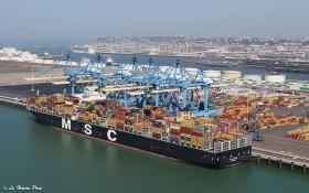 圖為法國勒阿弗爾(Le Havre)集裝箱運輸港口。(圖源:互聯網)