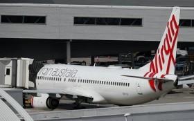 維珍澳大利亞航空客機。(圖源:互聯網)