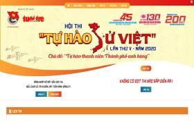 """2020年第五屆""""自豪越史""""比賽於本月25日至6月22日在https://tuhaosuviet.tuoitre.vn 網站進行。(圖源:網站截圖)"""