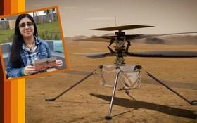 人類史上首架地外直升機獲名「機智號」。(圖源:NASA)