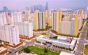 第二郡守添新都市區內安置區的14棟公寓即將拍賣。(圖源:維光)