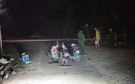 圖為4月24日晚間,平政縣永祿B鄉6A村空曠地一處的案發現場。(圖源:CTV)