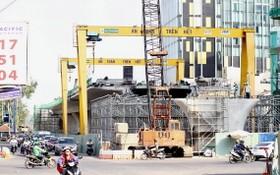 第一郡方向的建設項目正加速施工。