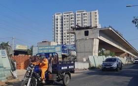 因場地清拆羈絆,曾隆橋工程一年來暫停施工。