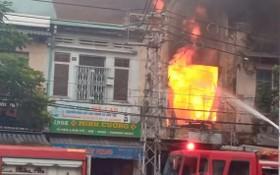 火警現場。(圖源:H.T)