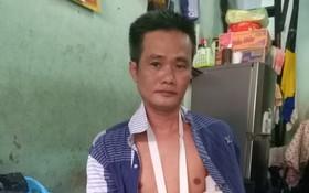 林文仁的手臂受傷。