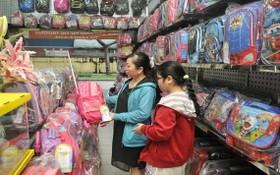 學生背包和手提袋是新學年平抑物價計劃的商品。