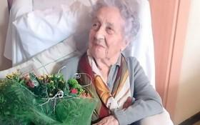 西班牙113歲老婦瑪麗亞‧布蘭尼亞斯。(圖源:互聯網)