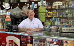 寓居隆安省新安市第一坊的黃業新大叔