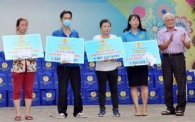 華人企業新金雄黃金寶石有限公司總經理呂永雄直接贊助2000萬元給予4位患癌症勞動者。