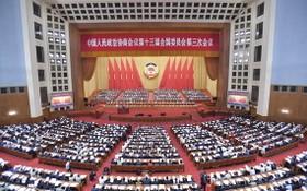 5月21日,中國人民政治協商會議第十三屆全國委員會第三次會議在北京人民大會堂開幕。(圖源:新華社)