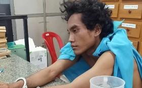 被抓獲的劫匪趙囊。(圖源:警方提供)