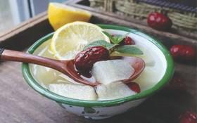 檸檬冰糖梨水