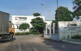 圖為設在北寧省桂武工業區內的越南Tenma公司。(圖源:互聯網)