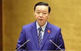 資源與環境部長陳紅河。(圖源:允進)