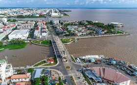 圖為堅江省迪石市一隅。(圖源:互聯網)