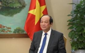政府辦公廳主任梅進勇部長。(圖源:VOV)