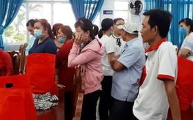 參與調解勞工解僱糾紛的工人。(圖源:勞動者報)