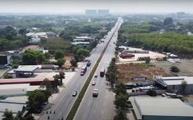 環市三路項目的美福-新萬路段已獲投入使用。