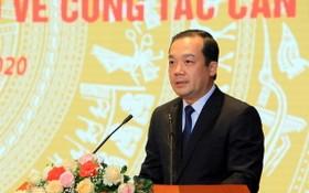 新任越南郵政電信集團成員委員會主席范德隆。(圖源:陳平)