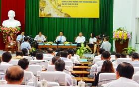 2019年九龍江平原區域投資經營環境評價會議現場。(圖源:信輝)