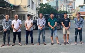 被捕的綁架團夥。(圖源:國勝)