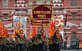 俄紀念衛國戰爭勝利 75 週年紅場閱兵式舉行。(圖源:AP)