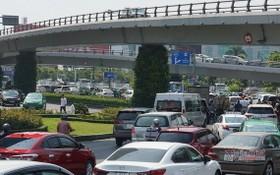 新山一機場附近的交通堵塞現象屢見不鮮。