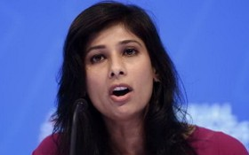 國際貨幣基金組織首席經濟學家 Gita Gopinath。(圖源:AFP)