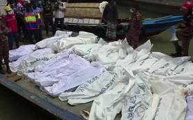 孟加拉國達卡發生沉船事故 至少23人遇難。(圖源:互聯網)