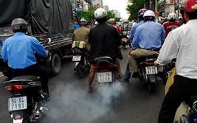 過去期間摩托車數量迅速增加,導致各大都市的廢氣排放量也增加。(示意圖源:互聯網)