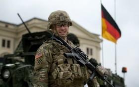 圖為駐紮在德國的一名美軍士兵。(圖源:互聯網)