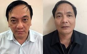 涉案嫌犯陳陸郎(左圖)及喬廷和。(圖源:公安部)
