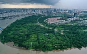 第二郡守添新都市區內將建有生態林區。