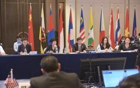 第十七屆中國-東盟博覽會高官會暨投資合作工作視頻連線會議。