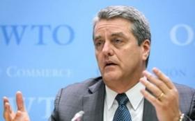 世界貿易組織總幹事阿澤維多5月中旬意外宣佈,將於8月31日正式離任,提前一年結束自己的任期。(圖源:AFP)