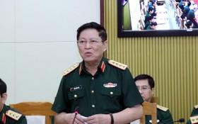 國防部長吳春歷大將主持會議。(圖源:光輝)