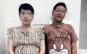 被拘留的 2名孕婦。(圖源:VOV)