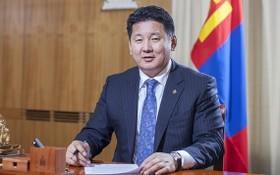 蒙古國總理烏赫那‧呼日勒蘇赫。(圖源:Getty Images)